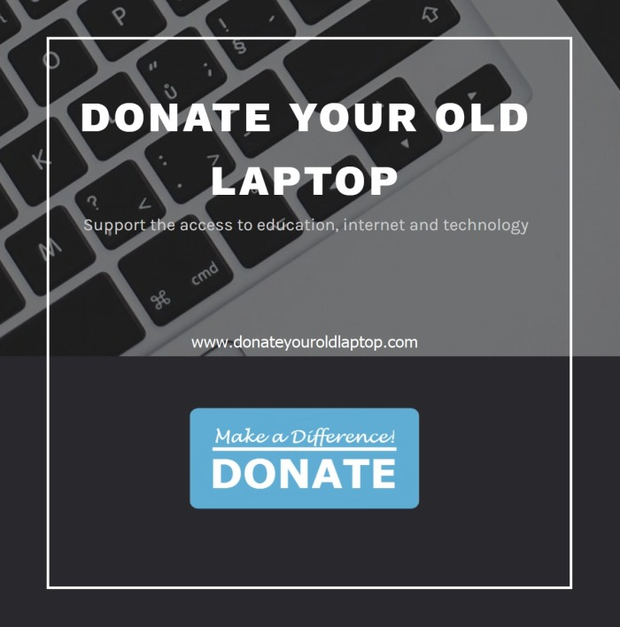 Donate Your Old Laptop