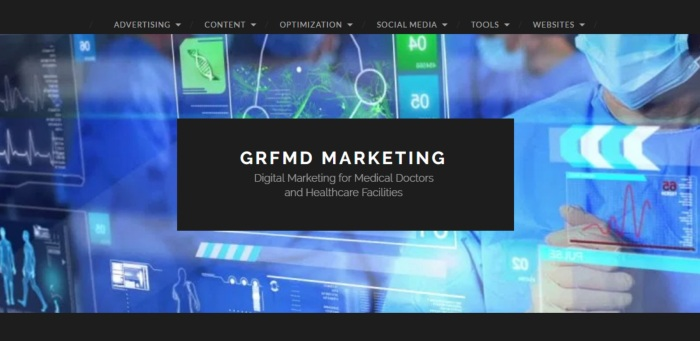 Sponsor GRFMD Digital Medical Marketing
